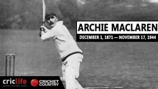 Archie MacLaren: 10 interesting facts about the charismatic English opening batsman