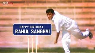 Rahul Sanghvi: Eight interesting facts about the Indian left-arm orthodox spinner