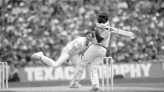 Viv Richards scores epic 189 not out, plunders 93 out of 106 for last wicket
