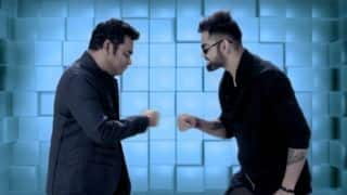 VIDEO: Kohli, Rahman burn dance floor with FPL anthem