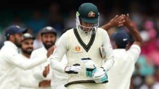 Australia's embarrassing series continues, asked to follow-on for first time in 31 years at home
