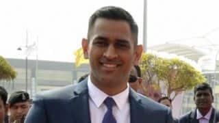 Video: MS Dhoni launches cricket academy in Dubai