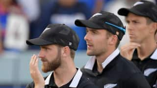 New Zealand's homecoming ceremony after agonising World Cup final defeat put on hold