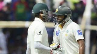 Azhar Ali, Younis Khan score half-centuries against Bangladesh in 2nd Test at Dhaka