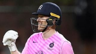 Vitality T20 Blast: Eoin Morgan stars as Middlesex chase down record target to beat Somerset