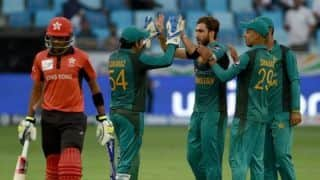 Asia Cup 2018: Pakistan thump Hong Kong by eight wickets