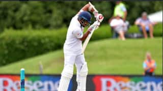 Christchurch Test: Injured Angelo Mathews has been sent for scans