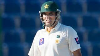 Misbah-ul-Haq leads Pakistan's fightback at end of Day 4 of 2nd Test against Sri Lanka at Dubai