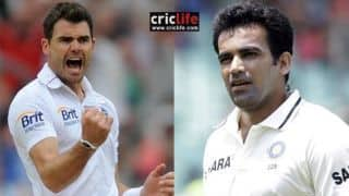 India vs England : Zaheer khan says James Anderson will need help from pitches to succeed in Test series