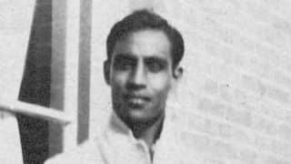 Syed Mohammad 'Rainbow' Hadi: First man to score a Ranji Trophy hundred