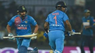 Rohit, Rahul pulp SL bowlers to smack record 260 for 5 in 2nd T20I