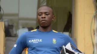 South Africa name Kagiso Rabada in squad for Cape town Test