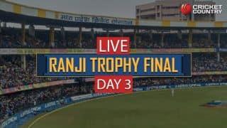 Live Cricket Score: Ranji Trophy Final 2017-18, Delhi vs Vidarbha, Day 3: STUMPS