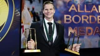 Smith wins Allan Border Medal, ODI & Test Cricketer