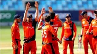 ICC Men's T20 World Cup Qualifier. ओमान को हरा नामीबिया ने पहली बार किया क्वालीफाई