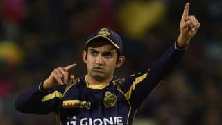 कोलकाता नाइट राइडर्स के कप्तान गौतम गंभीर की हो सकती है पिटाई !