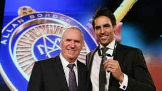 Allan Border Medal 2014 ceremony