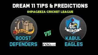 Dream11 Team Boost Defenders vs Kabul Eagles Match 6 Afghanistan T20 League 2019 – Cricket Prediction Tips For Today's T20 Match BOD vs KE at Kabul