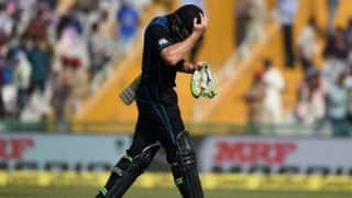 India vs New Zealand,4th ODI: Martin Guptill misses out on a century