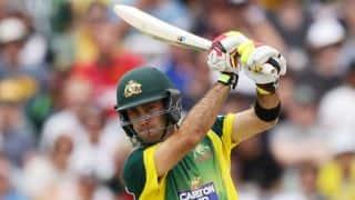 Australia vs England, 6th ODI in Perth: Glenn Maxwell dismissed for 95