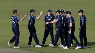 SCO vs IRE, Live Cricket Score, Desert T20 2017: