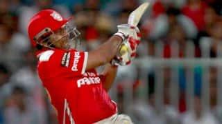Virender Sehwag, Cheteshwar Pujara give Kings XI Punjab steady start against Royal Challengers Bangalore in IPL 2014