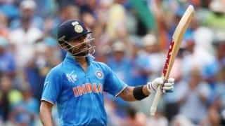 Virat Kohli, Shikhar Dhawan out early in India vs South Africa 2015, 2nd T20I at Cuttack