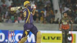 Yusuf Pathan leads Kolkata Knight Riders charge against Sunrisers Hyderabad in IPL 2014
