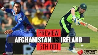 Afghanistan vs Ireland, 5th ODI preview: Teams set for thrilling series-decider