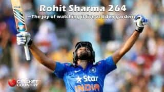 Rohit Sharma 264: The joy of watching it live at Eden Gardens