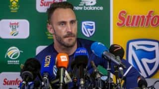 Sri Lanka vs South Africa: Faf du Plessis backs ICC's decision of removing toss from Test matches