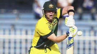 Steven Smith gets his maiden ODI century against Pakistan in first ODI