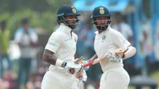 Dhawan, Pujara smother Sri Lanka on Day 1