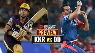Kolkata Knight Riders (KKR) vs Delhi Daredevils (DD), IPL 2017 Match 32 preview and likely XI: KKR look to maintain lead