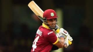 Live Cricket Score, West Indies vs Scotland, ICC Cricket World Cup 2015, 12th warm-up match at Sydney: West Indies win by 3 runs