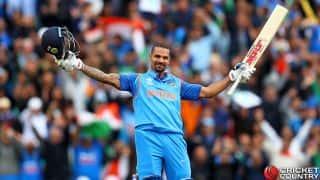 जोहान्सबर्ग वनडे: शिखर धवन की शतकीय पारी की मदद से भारत 289/7