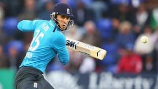 India vs England, 5th ODI at Headingley: Alex Hales out early