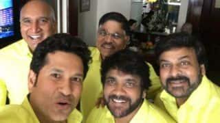 Tendulkar joined by Chiranjeevi, Nagarjuna as ISL team Kerala Blasters co-owners