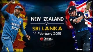 ICC cricket World Cup 2015, New Zealand vs Sri Lanka Pool A match at Christchurch, preview, squads, and match time: Hosts favourite on form and home advantage