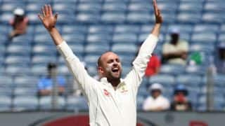 Nathan Lyon becomes fourth highest Test wicket-takers for Australia