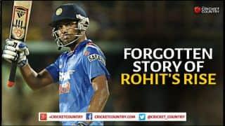 Rohit Sharma: The often forgotten story of the batsman's rise