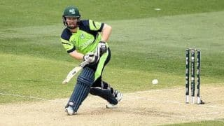 Paul Stirling named stand-in captain of Ireland in place of Gary Wilson