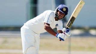 """"""" भारतीय टीम में वापसी करना ही मेरा लक्ष्य"""": सौरभ तिवारी"""