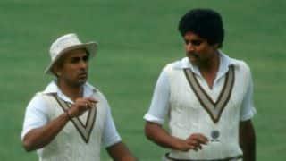 The Sunil Gavaskar-Kapil Dev show in the Madras Test against Pakistan