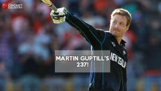 New Zealand vs West Indies quarter-final: Martin Guptill's 237 video highlights