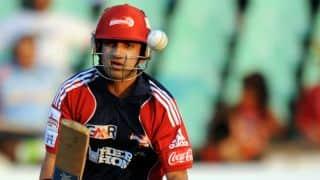 भारतीय टी20 लीग: गौतम गंभीर ने पंजाब के खिलाफ अर्धशतक जड़ा; डेविड वॉर्नर की बराबरी की