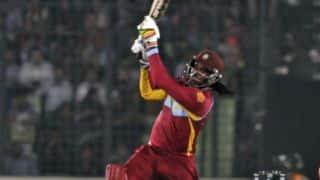 क्रिस गेल की तूफानी पारी बेकार, इंग्लैंड ने 29 रन से जीता चौथा वनडे