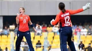 India women score 111/8 against England in 2nd Guwahati T20I