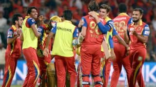 Chennai Super Kings vs Royal Challengers Bangalore, Live Cricket Score IPL 2015, Match 37 at Chennai