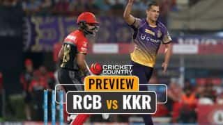 RCB aim payback against KKR for 49 all-out